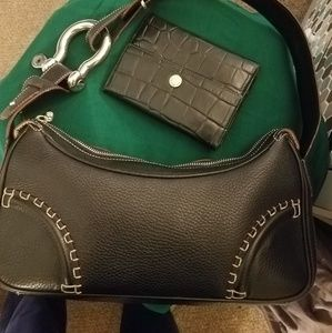 Authentic Burberry wallet and handbag